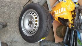 Brand new VW TRANSPORTER Wheel and Tyre 205x65xR16C