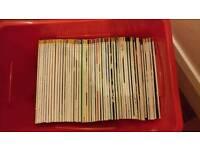 Box full of Mojo magazines