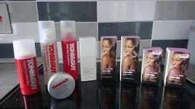 Mixture of Shampoo, Conditioners, Hair Serum..