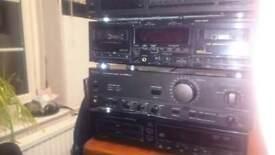 Audio separates with amp