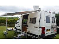 3 Berth Motorhome for hire