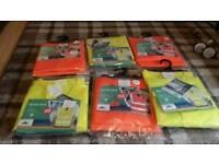 6 packs of L/XL Hi viz jackets