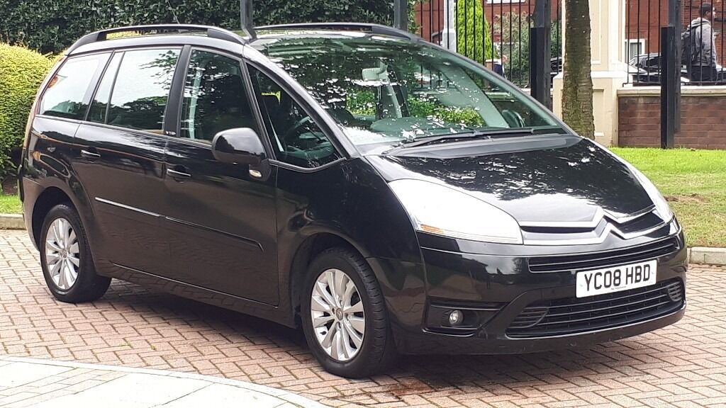 citroen c4 grand picasso 2008 7 seater vauxhall zafira citroen c4 kia sedona in fallowfield. Black Bedroom Furniture Sets. Home Design Ideas