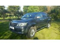 Toyota Hilux INVINCIBLE 2014. Auto, 171ps,D/CAB Pick up. Nav leather