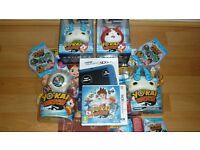 New Nintendo Handheld Console 3DS XL Metallic Blue with Yo-Kai Watch 3DS Game and Yo-Kai Watch plus
