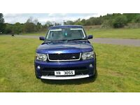 Range Rover Sport HSE 2.7 diesel. 2010 bumper and headlights upgrade