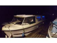 Trentcraft 26ft, narrow, boat, canal, diesel, cruiser,