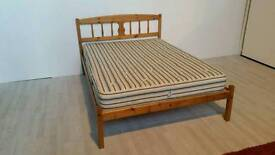 Pending Collection Solid Pine Double Bed #2