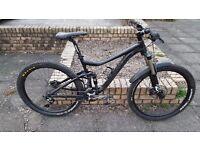 Giant Trance 27.5 2 2014 Mountain Bike MTB Fox Full suspension Shimano