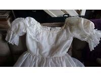 Bo peep style white size 12 wedding dress