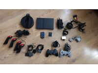 Super Mega Playstation 2 Bundle, 35 Games, All Accessories, and FREE PSX PS1 Bundle Included Too