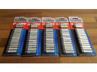 70 x AAA Batteries | Hyundai 1.5V Super Heavy Duty Zinc Chloride | 5 packs of 14 | Leeds | R03P