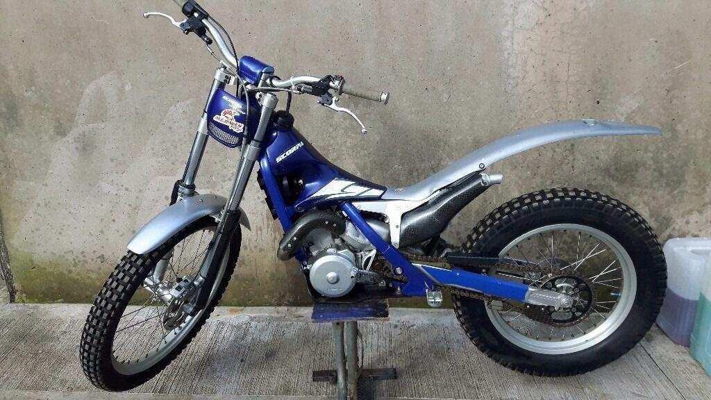 Scorpa trials bike 250cc yamaha 2 stroke beta fantic for Yamaha trials bike