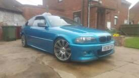 BMW 318 1.8 petrol. 7 months mot. Full respray in atlantis blue.