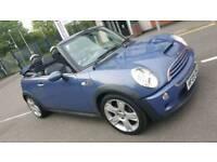 Mini cooper 1.6 s Supercharged petrol convertible *LONG MOT *IMMACULATE CAR CHEAP