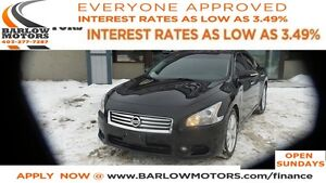 2012 Nissan Maxima SV (CVT)*EVERYONE APPROVED*APPY NOW DRIVE NOW