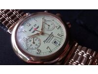 Poljot Komandirskie MIG 29 chronograph 3133 military watch