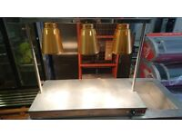 Heat Lamps Heated Carvery Display Buffet Warmer Hot Catering Server Unit
