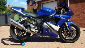 Yamaha YZF R6 Blue/Black/White 600cc for sale