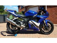 Yamaha YZF R6 Blue/Black/White 600cc for sale