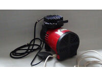 AIR BRUSH ITALIAN COMPRESSOR/reduced price