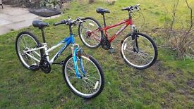 Two Apollo XC24 Bikes - Good Condition