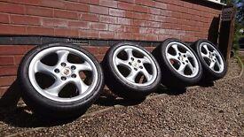 """Porsche Twists 18"""" 993"""