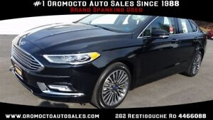 2017 Ford Fusion AWD,WINTER TIRES INC, HEATED LEATHER,REMOTE STA
