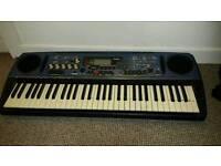 Yamaha DJX Keyboard,Sampler, MIDI controller