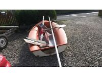 10ft grp dinghy fits on a roof rack