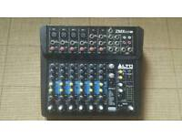 ALTO ZMX 122 Professional 8 channel audio mixer with effects