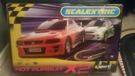 Scalextric Hot Pursuit Set in box