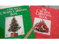 A pair of Creative Christmas Books