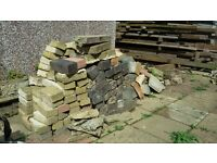 FREE!! PAVING BLOCKS APPROX 200 SOME BROKEN LEFT OVER FROM JOB FREE!!