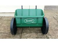 Scotts Evergreen Drop spreader