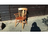 Attractive Pine Carver chair