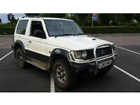 mitsubishi pajero swb 2.8 intercooler 4x4 excellent runner m.o.t april