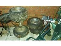 4 quad wheels on a cobra
