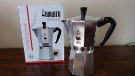 Bialetti coffee maker.
