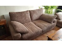 Sofas 2 and 3 seats. One year old,very good condition