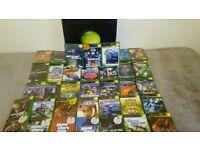 Original xbox with 35 games