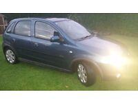 2002 Vauxhaul corsa 1.2 sxi, mot April 2017 alot of new parts fitted