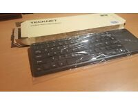 Bluetooth Keyboard,TeckNet Wireless Bluetooth Touch Keyboard with Built-in Multi-touch Touchpad