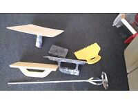 Paint and plastering tools