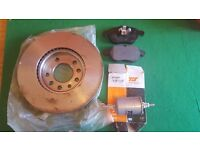 Vauxhall Vectra 2007 spares- Front Brake disc x 1, Front Brake Pad x1 and fuel filter.