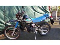 Kawasaki KLR250D Motorbike