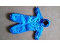 NEW PUMA snowsuit. 2-4 months on label but more suit for 3-6 month