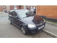 Black 2006 Vauxhall Corsa for sale, Good Runner, 3 previous owners, Great as first car.
