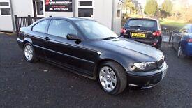 2005 BMW 318i Coupe, Dublin Registered, 156000km