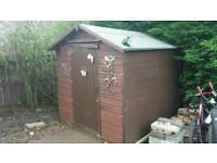 Shed 8ft by 6ft
